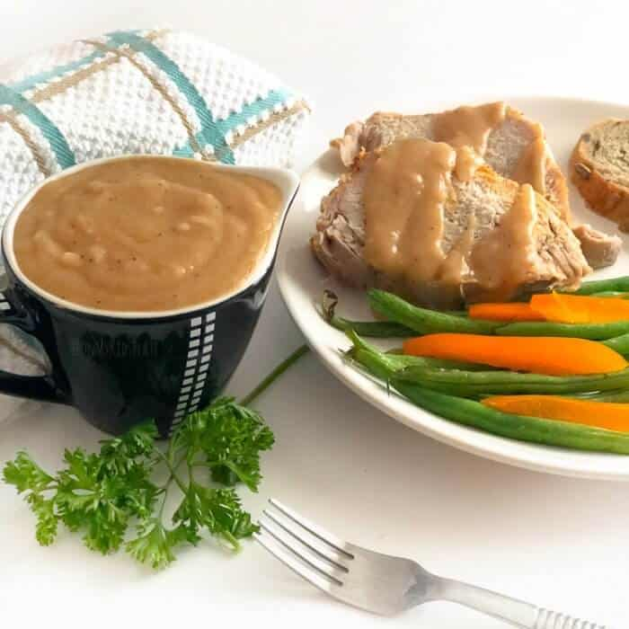 How To Make Simple Homemade Pork Roast Gravy In Ten Minutes (Or Less)