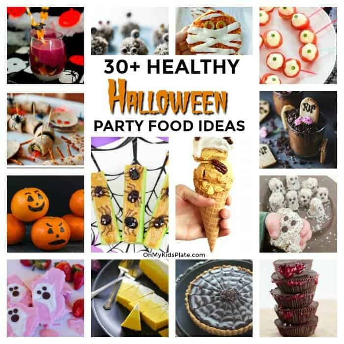 30+ Healthy Halloween Party Food Recipes Kids Will Love
