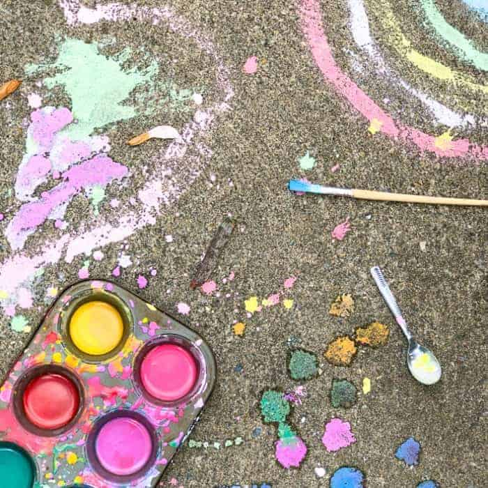 chalk paint for kids