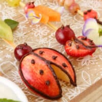 How To Make Five Different Fruit Bug Snacks