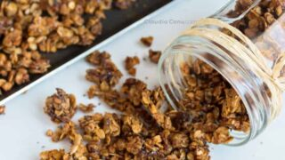 Almond Butter Granola Healthy and Easy-to-make