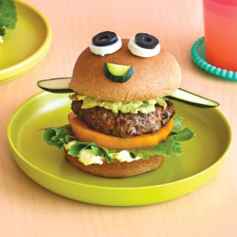 Beef And Vegetable Burgers