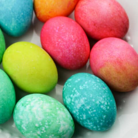 How To Dye Easter Eggs With Rice And Food Coloring